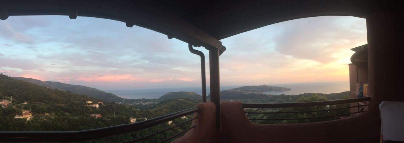 Palinuro 6 posti terrazzo panoramic - Centola