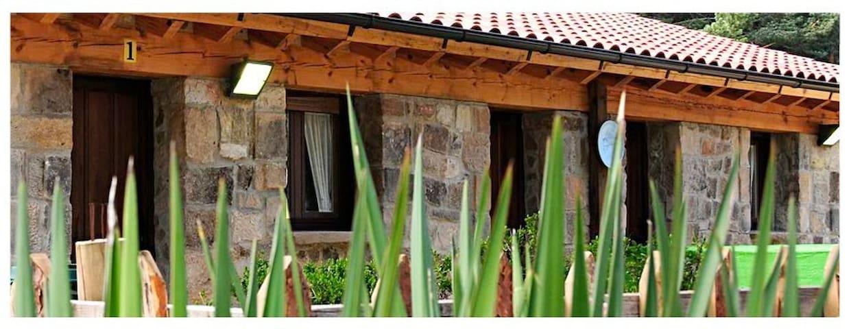 casa en plena montaña,piedra,madera - Vinuesa - Hus