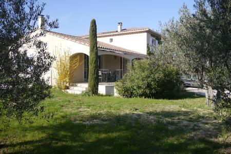 Villa Rochefort du gard proche Avignon 8 personnes - Rochefort-du-Gard