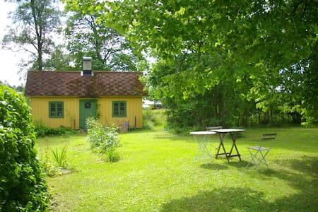 Enkel och charmigt - Gotland N - 小木屋