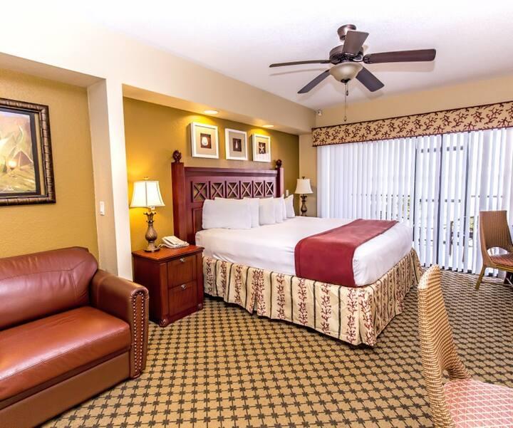 Kit/Apt  Studio Villa Resort 5* (para 2 pessoas)