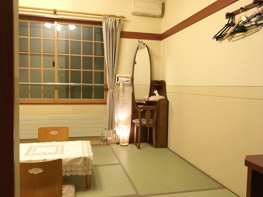 Make yourself at home. We wish you relaxing experience in Japanese style room.