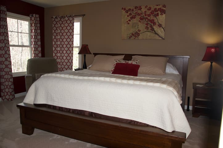 Comfortable top of line king size bed