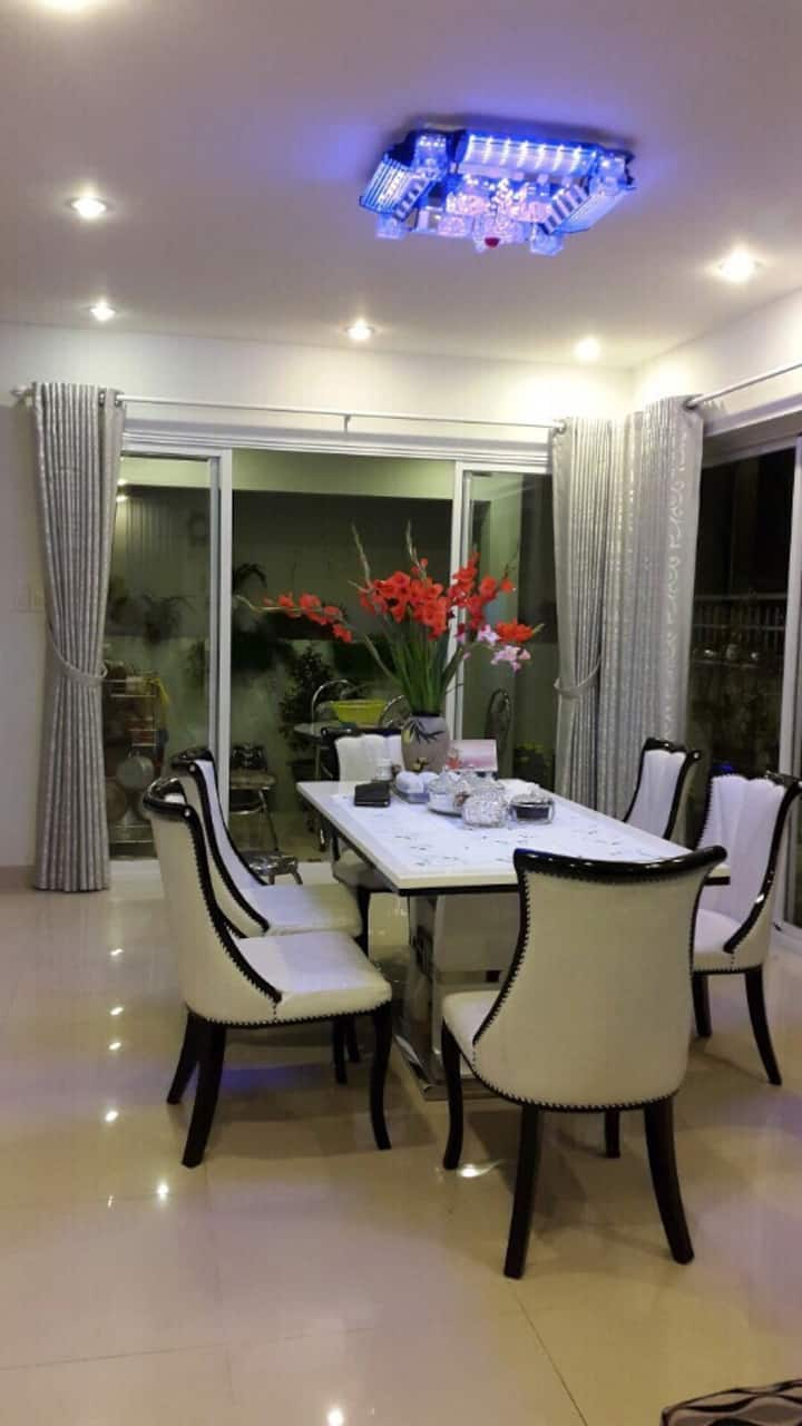 Wonderful floral house in Nha Trang