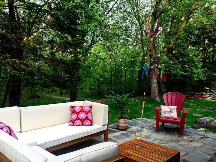Sublime cottage Tremblant & Rivière-Rouge!