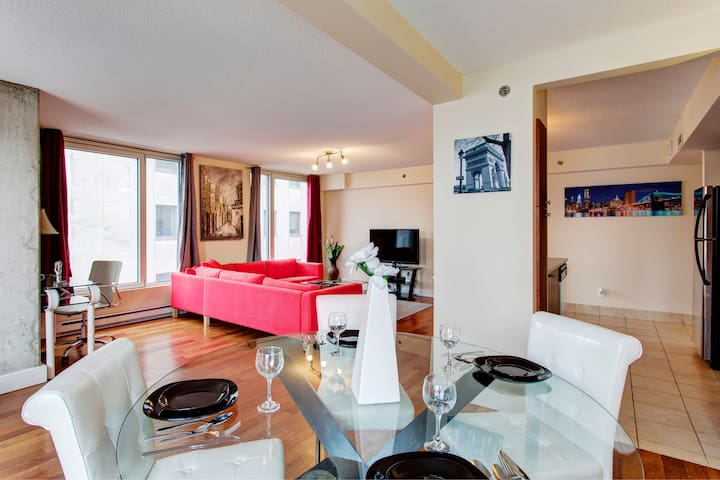 Gorgeous 2 Bedroom  - Financial District Old Port