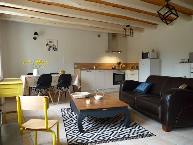 Maison chaleureuse et familiale