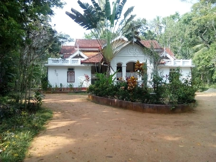 View of the Bungalow upon entrance