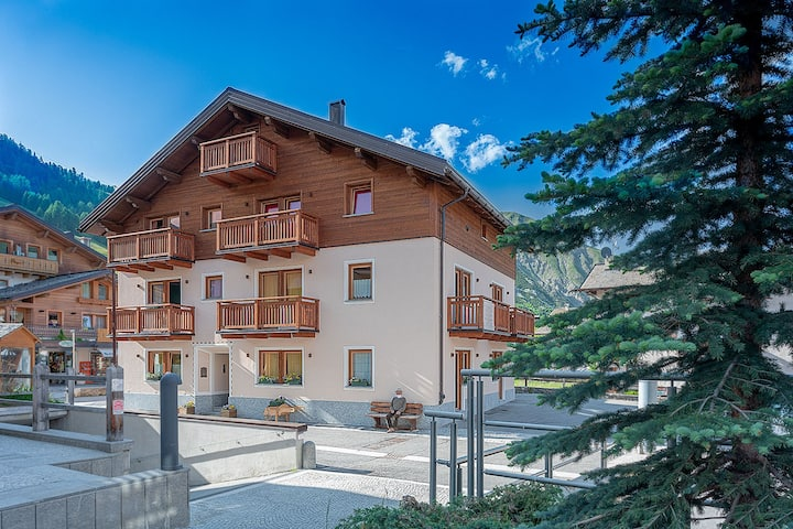 Casa Marianna Livigno - Bilocale per 2  in centro