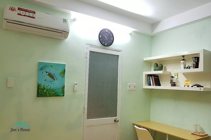 Private cozy room on 2nd floor in D3, HCM