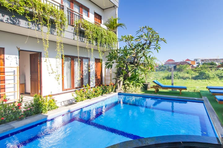 Silent Homy Guesthouse at the heart of Canggu