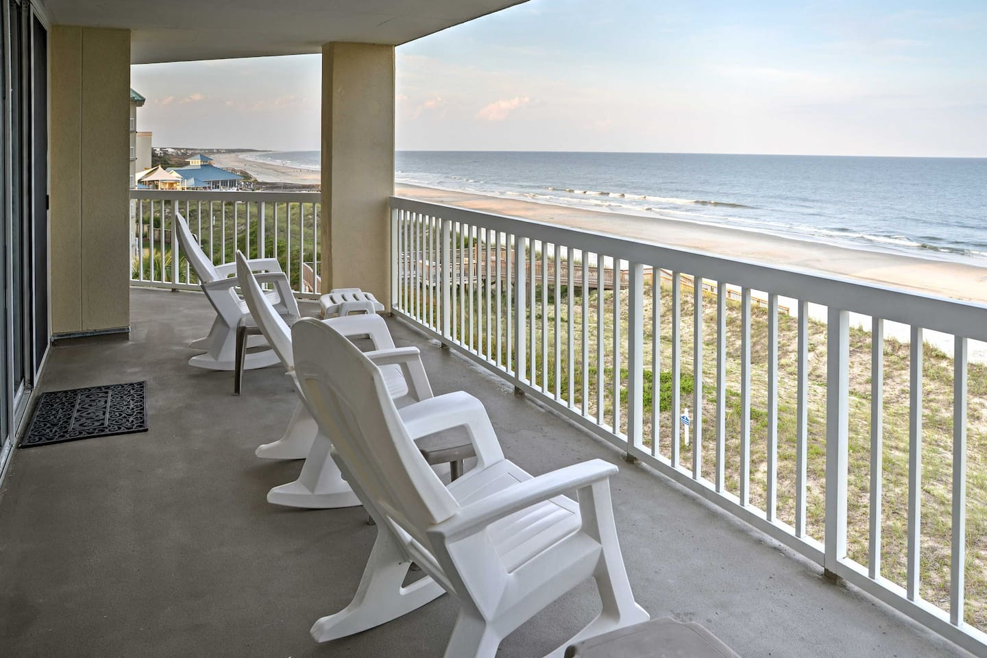 The ultimate beach retreat awaits you at this oceanfront 3-bedroom vacation rental condo in Pawleys Island!