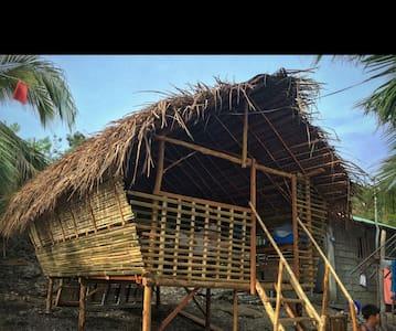 NIPA HUTS of Gaspar Island - Gasan