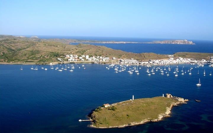 Fornells, Isla privada, Menorca