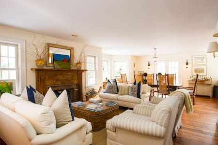 Stunning designer's home with private setting - Bridgehampton - Σπίτι