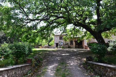 Typical Tuscany Farmhouse - Sovicille - Huvila
