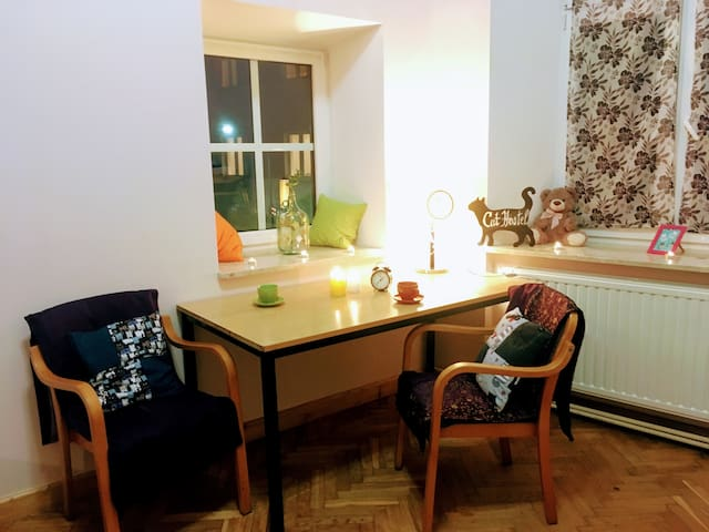 Cat Hostel - 1 bed in dorm room for 4 persons
