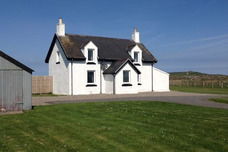 Comfortable, spacious home, Tiree. - Scarinish