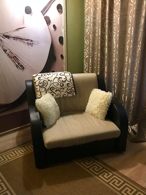 Спальное место. Кресло-кровать.