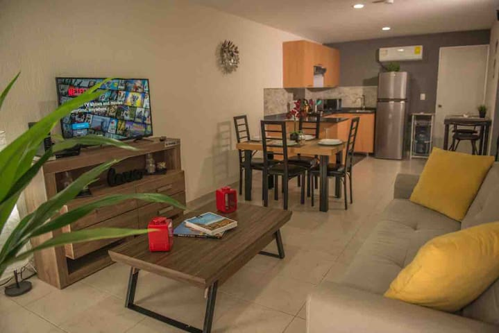 Punta Alta Apartment - Planta Baja con A/C.