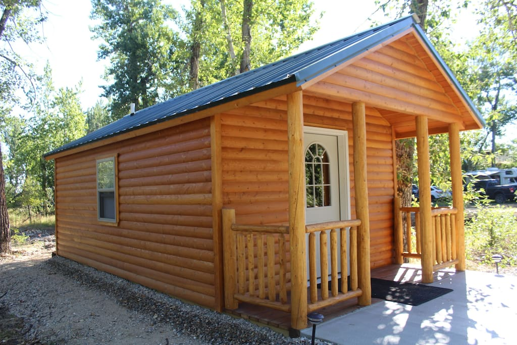 Castaway Cabins 1 Near Red Lodge Mt Cabins For Rent