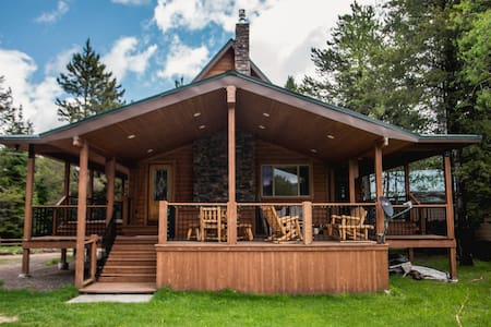 Spacious Cabin ♥️ Near Yellowstone Sleeps 14+Wifi⭐