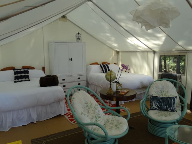 Glamping Tent Suite - Sundridge - Apartment