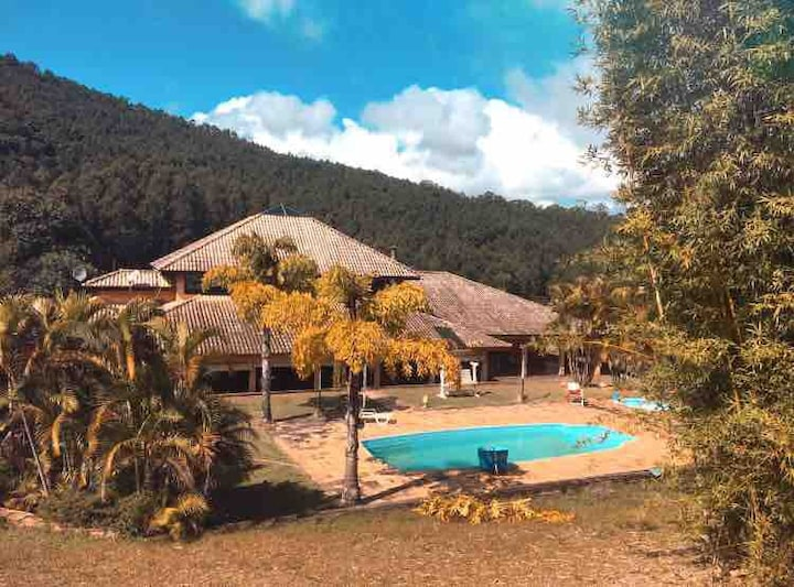 Chácara da Banana Luxo em Joanópolis