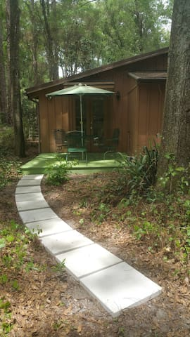 little cottage in the woods - DeLand