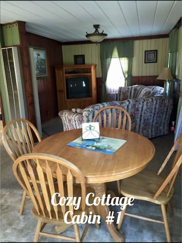 Lakefront Cottage at Leach Lake Resort #1