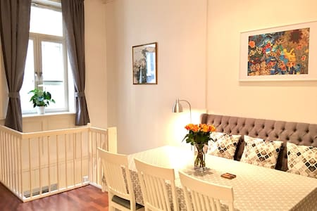 Central 3BR/2 Bath - Frogner, Oslo! - Oslo - Apartmen