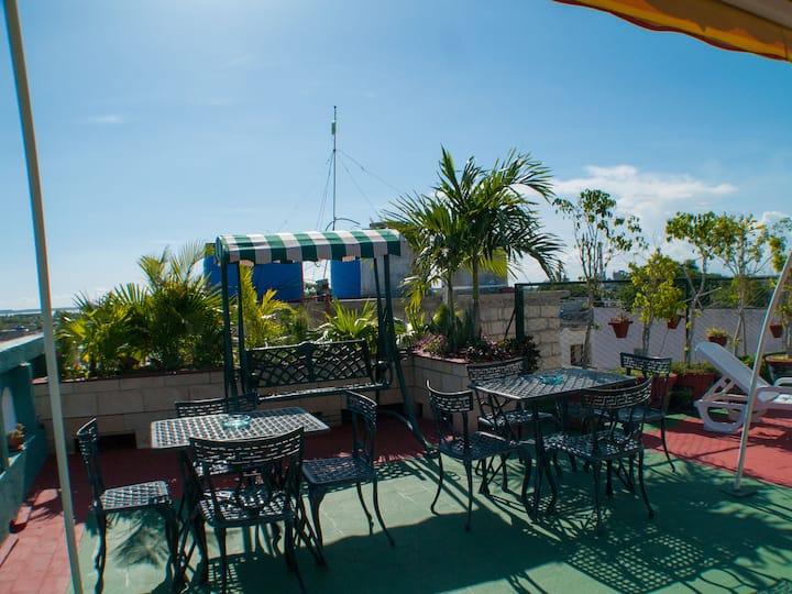 Casa Tania y Adrian Cienfuegos City for Family