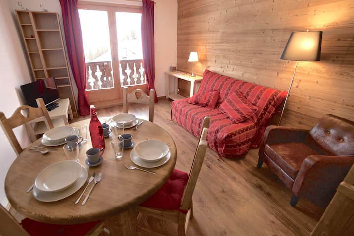 Warm and cozy place in Savoie (w/ Swimming Pool)