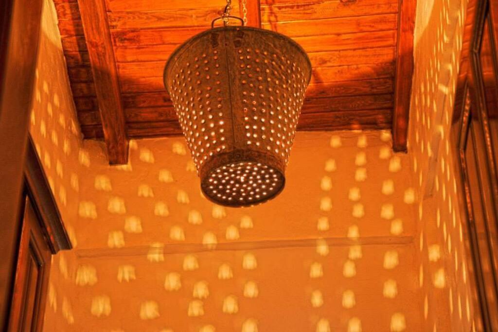 ıslak mekanda özel ışıklandırma