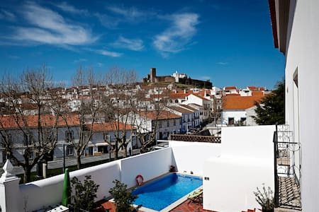 Casa do Plátano - QuartoAzul Indigo - Arraiolos