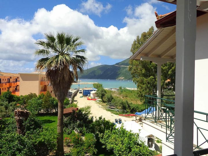 Vassiliki Holiday Home | View, Garden,  Beach