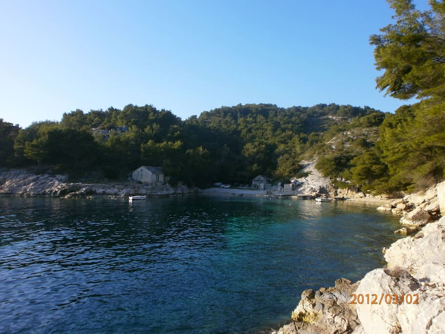 Vela Luka,secret beach