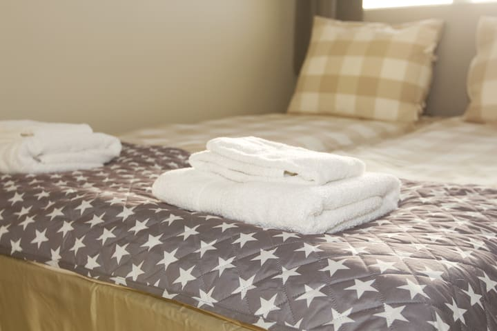 Private Double Room in Guesthouse Álfar