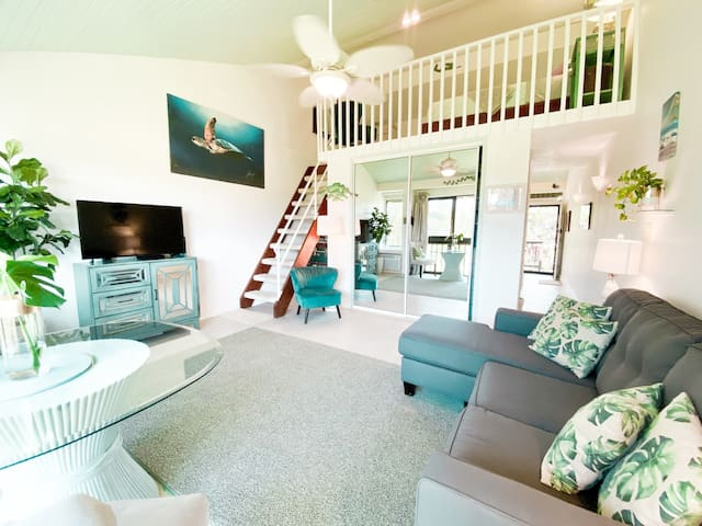 Spacious and clean studio loft with all the comfortable amenities you need to have your dream vacation!