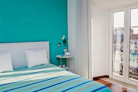 Casa do Plátano - Quarto Azul Claro - Arraiolos