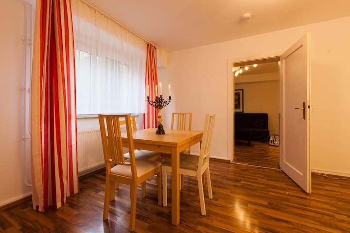 Messe Apartment & 2 rooms & kitchen - Frankfurt am Main - Apartamento