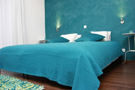 Casa do Plátano - Quarto Turquesa - Arraiolos
