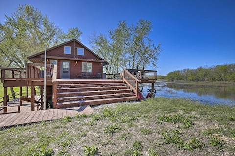 Lodge on 240 Acres w/ Deck, Grill & Fire Pit!