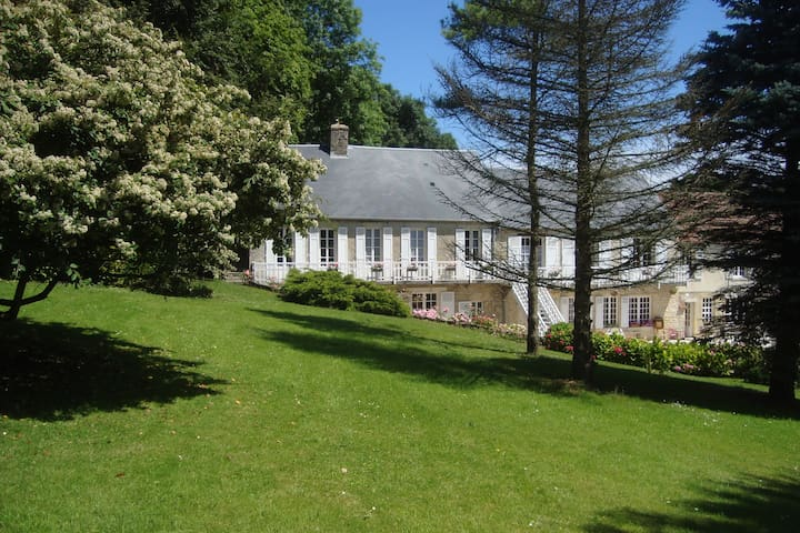 Le Clos Saint Jean: Suite Tulipe-Narcisse - Sainte-Honorine-des-Pertes - Bed & Breakfast