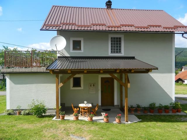 House in village Krasno