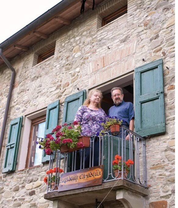 i proprietari: Cinzia e Luciano