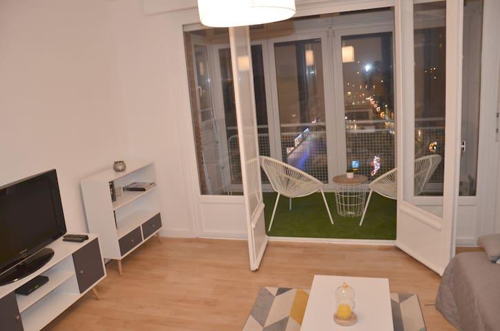 Super appartement T2 ultra moderne en hyper centre