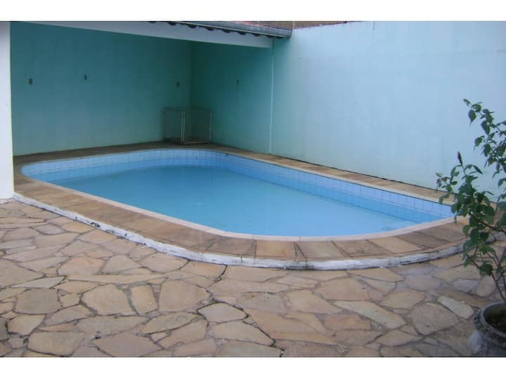 Big house with pool