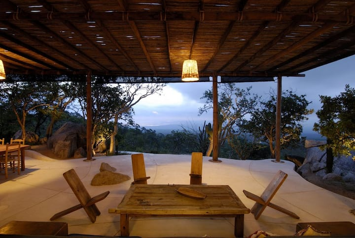 Exquisite desert house in Baja. La Paz-La Ventana