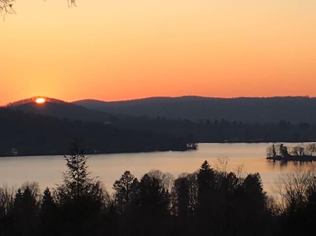 Lake Waramaug Sunsets